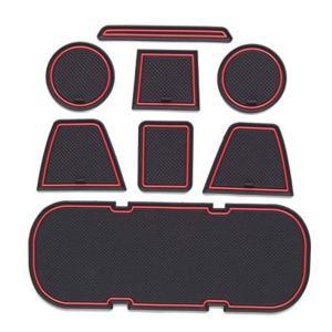 トヨタ 86 スバル BRZ ドアポケット ドリンクホルダー コンソール インテリア ラバー マット...