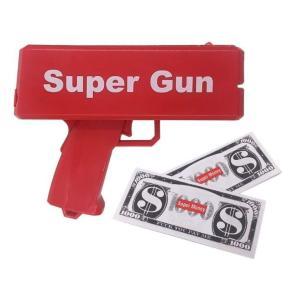 マネーガン キャッシュ キャノン (レッド)  Super Money Gun Red