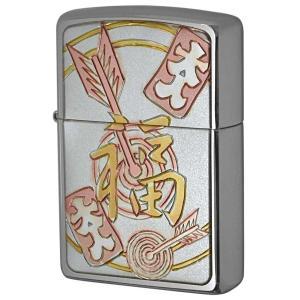 Zippo ジッポ ジッポーライター 彫金漢字シリーズ 福|zippo-flamingo