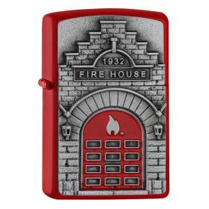 ヨーロッパ直輸入Zippo ジッポ ジッポーライター Fire House 2005338|zippo-flamingo
