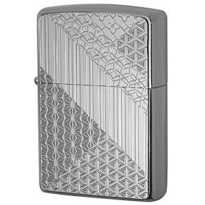 Zippo ジッポ ジッポーライター Metal Plate 真鍮板メタルプレート 2MP-組木模様|zippo-flamingo