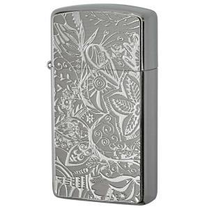 Zippo ジッポ ジッポーライター Metal Plate 真鍮板メタルプレート 16MP-ボタニカル|zippo-flamingo