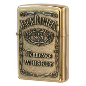 ■254BJD.428 Jack Daniel's Label Brass    アメリカンウィスキ...