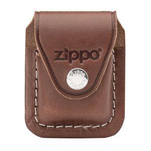 US直輸入・Zippoレザー 革 ケース クリップタイプ・ブラウン・LPCB|zippo-flamingo
