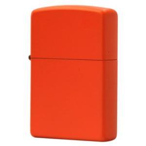 ■Zippo(ジッポー):マットカラー/231 Orange Matte  シンプルで飽きないマット...