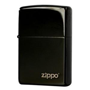 Zippo ジッポ ジッポー ライター EBONY W ZIPPO 24756ZL