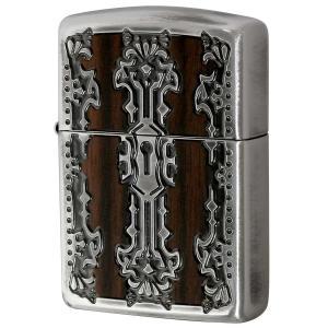 Zippo ジッポ ジッポー ライター Keyhole Wood Inlay キーホールウッドインレ...
