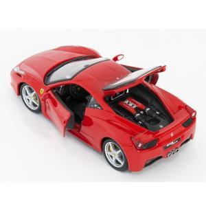 ブラーゴ 1/24 フェラーリ 458 イタリア 200-471 モデルカー|zippo-landing|04