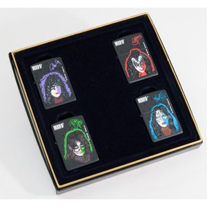ZIPPO KISS キッス ギフトセット 4個セット 1998年製 ジッポーライターセット