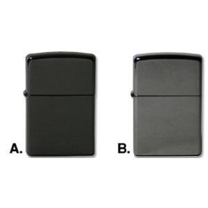 「ブラック・ジッポー」黒色チタンメッキ A.EBONY濃黒色ジッポー ZIPPOライター ジッポライター|zippoworld