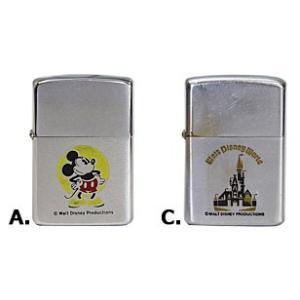 「ディズニー・ジッポー」 A.ミッキーマウス1981年製中古良品ジッポー ZIPPOライター ジッポライター|zippoworld