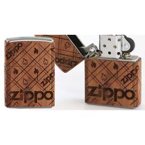 木巻きWOODジッポーロゴ柄ジッポー ZIPPOライター ジッポライター zippoworld