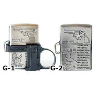 ルパン3世「ガン・アクション」シリーズG-1.ルパンジッポー ZIPPOライター ジッポライター|zippoworld