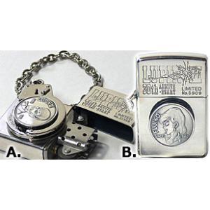 ルパン3世「手錠シリーズ」 A.ルパン柄ジッポー ZIPPOライター ジッポライター|zippoworld