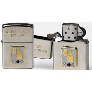 ジッポー輸入25周年1994年製銀メッキジッポー ZIPPOライター ジッポライター zippoworld