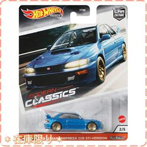 ホットウィール(Hot Wheels) '98 スバル・インプレッサ 22B Stiバージョン GJ...