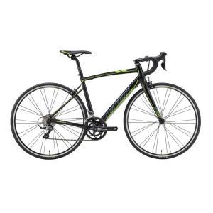 2018モデル MERIDA(メリダ) RIDE80(ライド80)ブラック/グレー/グリーン  ペダルサービス ロードバイク|zitensyadepo