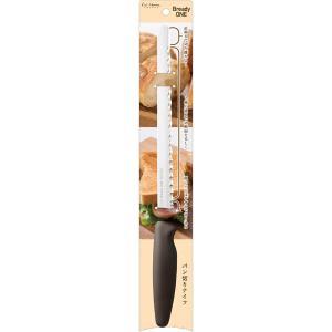 ◆ 貝印のパン切り専用ナイフです。 ◆ 先端の直線刃で切り離れよく、2種の波刃で切断面を美しく、硬い...