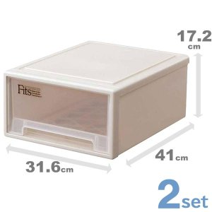 収納ケース 収納ボックス 衣類ケース 衣装ケース プラスチック 引き出し fits フィッツケース ...
