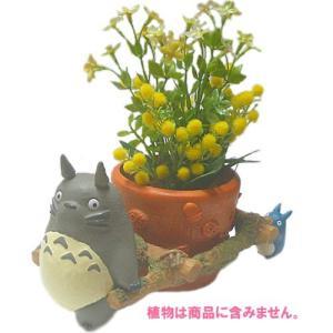 【ジブリグッズ/ガーデニングプランター】となりのトトロプランターカバー/花かごわっしょい|znet
