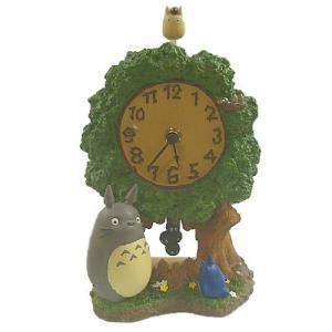 【ジブリグッズ/となりのトトロ置時計】 となりのトトロ くすのきゆらゆら時計 znet