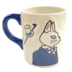 """ジブリ映画""""耳をすませば""""から、素敵なマグカップが出来ました。 バロンとドワーフの王、ルイーゼとエル..."""