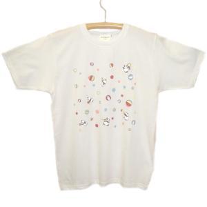 パンダコパンダ Tシャツ サーカスホワイト|znet