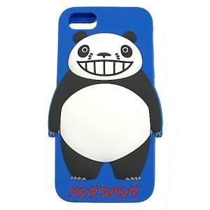 パンダコパンダ シリコンスマホケース(iphone6・6s・7対応) ブルー|znet