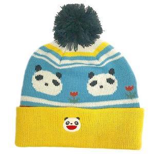 パンダコパンダ ニット帽子 チューリップ レディースサイズ|znet