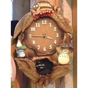 トトロオルゴール掛け時計M837 znet