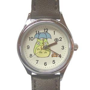 【スタジオ ジブリ グッズ/となりのトトロ腕時計】 傘トトロとカエル ACCK404 znet