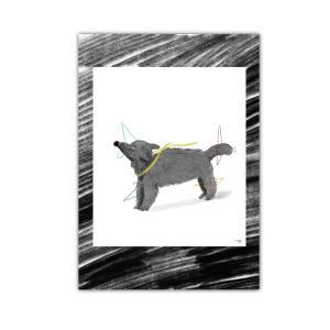 A4ポスター 子犬のカガール zoizoi