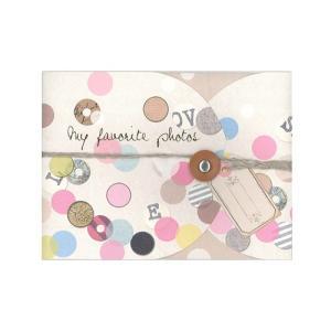 GREETING ALBUM(グリーティングアルバム) ドット 贈り物 プレゼント ギフト [M便 3/25] zonart-kamika