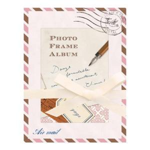 PHOTO FRAME ALBUM(フォトフレームアルバム) レタートラベル 贈り物 プレゼント ギフト [M便 3/25] zonart-kamika