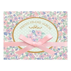 PHOTO FRAME ALBUM(フォトフレームアルバム) フラワープチ 贈り物 プレゼント ギフト [M便 3/25] zonart-kamika