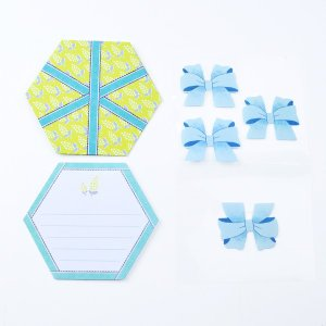 MINI LETTER SET Gift Letter ミニレターセット イエロー 贈り物 プレゼント ギフト [M便 3/25] zonart-kamika