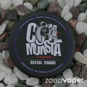 COIL MONSTA(コイルモンスター)SS316L 20AWG 30ft|zonovaper