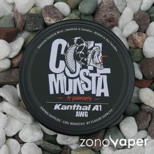 COIL MONSTA(コイルモンスター)Kanthal (カンタル)A1 22〜34AWG 30ft|zonovaper