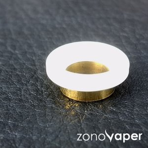 Comp Lyfe(コンプライフ) MINI DRIP TIP(Gloss White Blass Underneath)|zonovaper