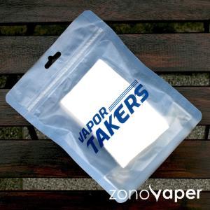 VAPOR TAKERS PREMIUM ORGANIC COTTON (ベイパーテイカーズ プレミアムオーガニックコットン)|zonovaper