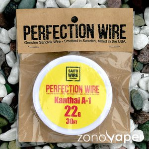 SAITO WIRE Creation/PERFECTION WIRE(パーフェクションワイヤー)Kanthal A-1  22G|zonovaper