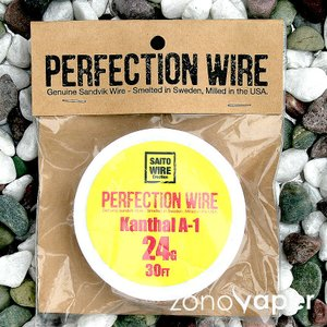 SAITO WIRE Creation/PERFECTION WIRE(パーフェクションワイヤー)Kanthal A-1  24G|zonovaper