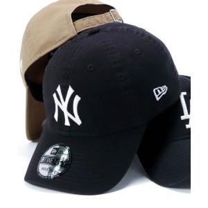 帽子 キャップ ニューエラ 9TWENTY キャップ ストラップバック ウォッシュドコットン MLB NEW ERAの画像