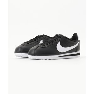 NIKE WMNS CLASSIC CORTEZ LEATHER (BLACK/WHITE-WHIT...