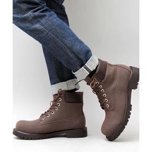 ブーツ 【glabella/グラベラ】<身長6cmUP> シックスインチ シークレット ワークブーツ