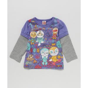 tシャツ Tシャツ 【アンパンマン】女児袖取り外し長袖Tシャツ