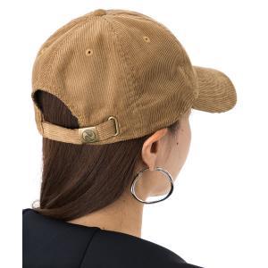 帽子 キャップ NEWHATTAN ニューハッタン コーデュロイ 1467 カーブバイザー 6パネル...