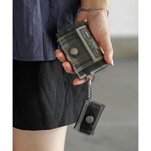 コインケース 札入れ SALLIES Pocket Pal サリーズ ミニマルウォレット ポケットパル 財布 クリアの画像