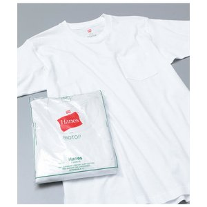 tシャツ Tシャツ 【Hanes for BIOTOP】2-Pack POCKET T-SHIRTS