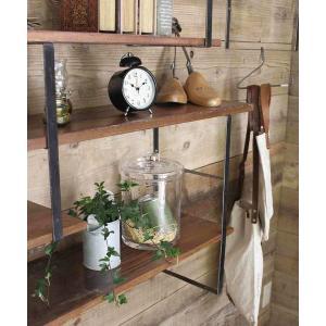 インテリア iron wall shelf support L / アイアンウォールシェルフ
